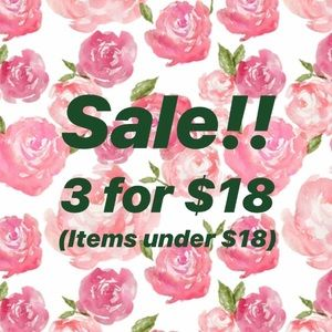 Accessories - 🌿SALE!!🌿 3/$18 on all items under $18.